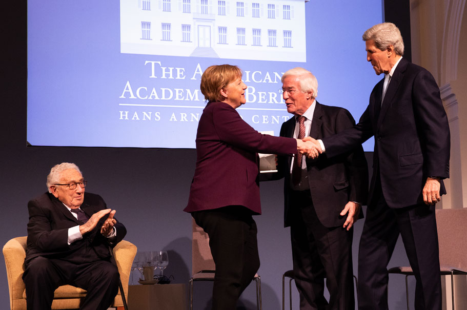 Angela Merkel Receives The Henry A Kissinger Prize American Academy
