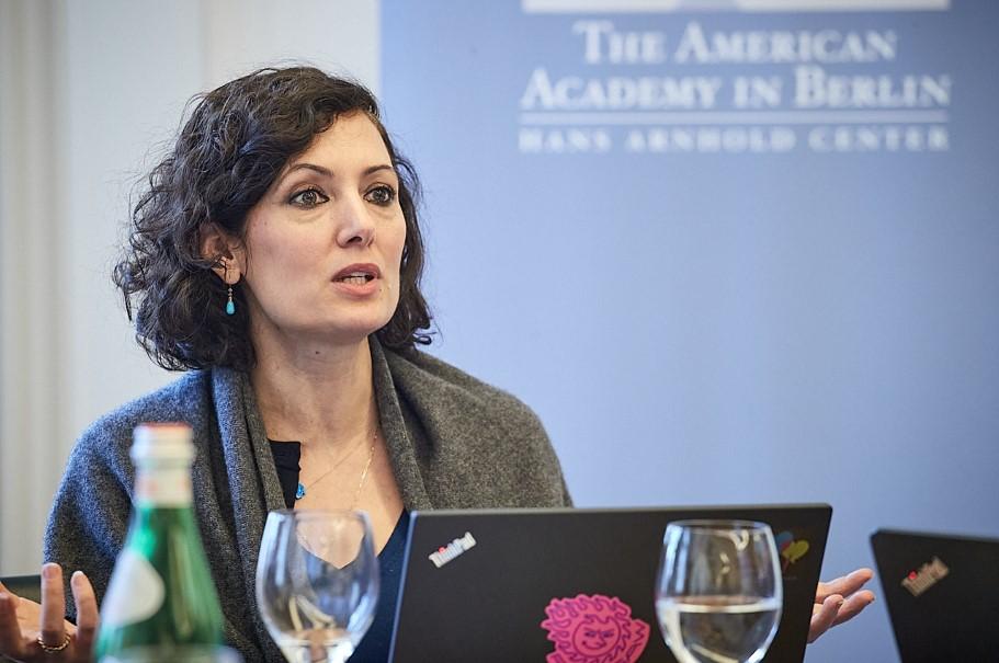 Naika Foroutan, Director, Deutsches Zentrum für Integrations- und Migrationsforschung DeZIM e.V., Berlin. Photo: Ralph K. Penno