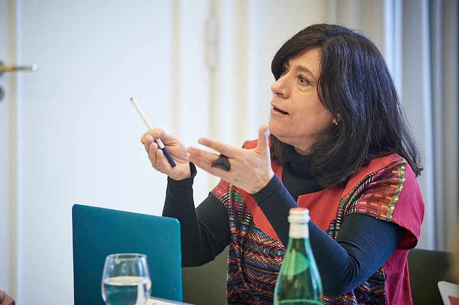 Leticia Calderon Chelius, Professor of Political Sociology, Research Institute Dr. Jose Maria Luis Mora, Mexico City. Photo: Ralph K. Penno