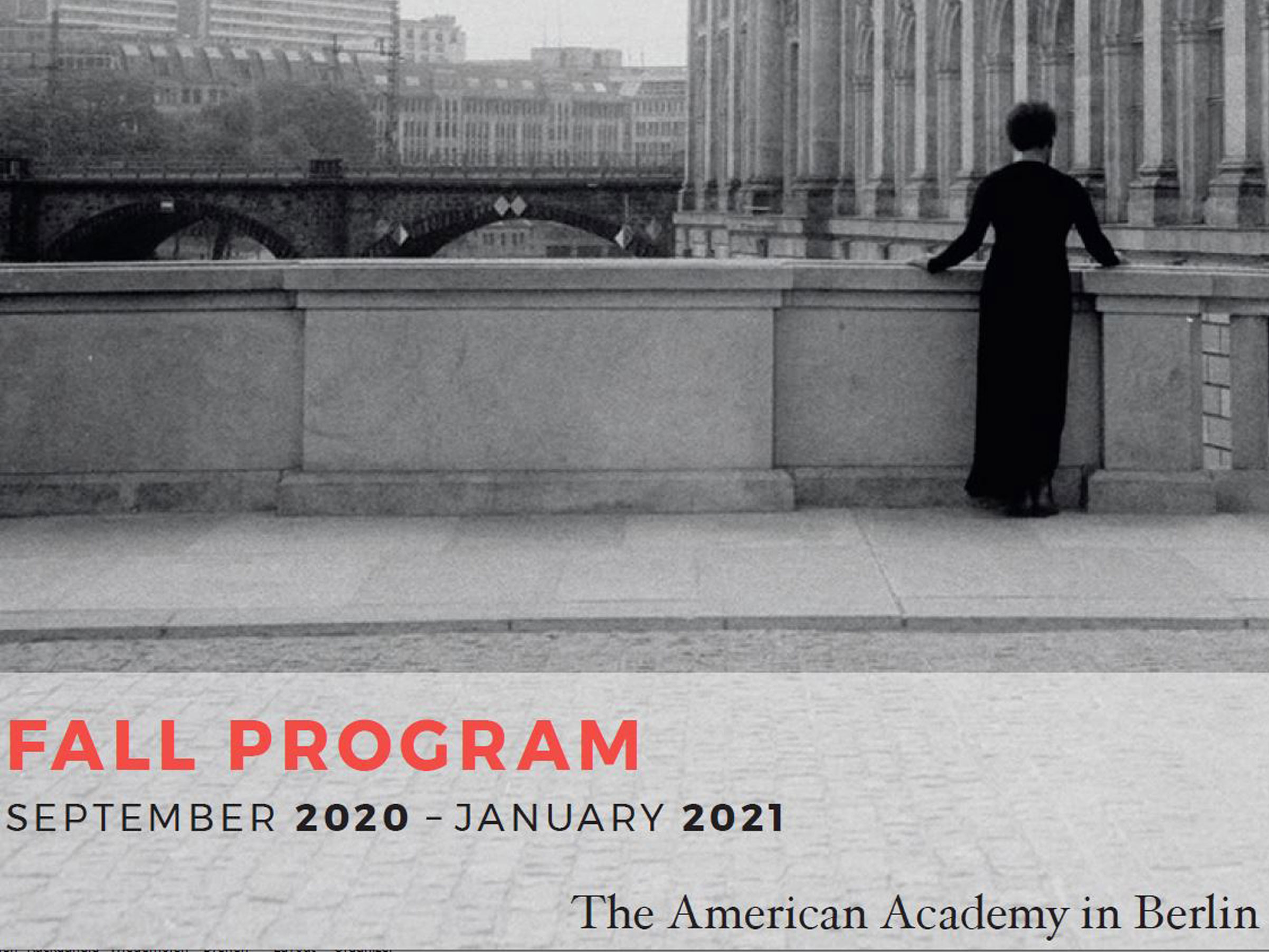 The Fall 2020 Program